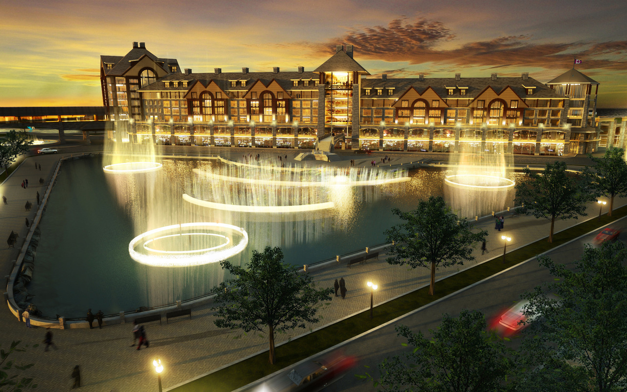 Dikeakos Architecture inc. Proposed Casino Destination Resort